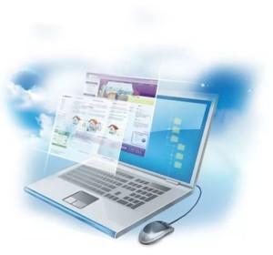 Корпоративный сайт в разработке