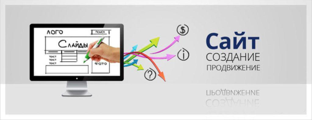 Создание сайта визитки компании