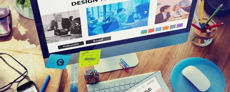 Создание сайтов с шаблоном дизайна