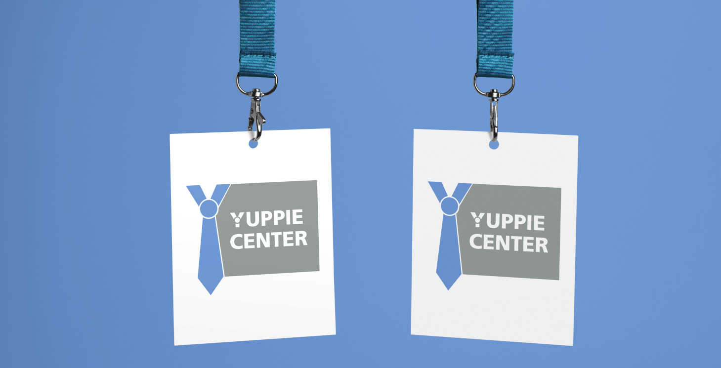 Разработка логотипа для Yuppie Center