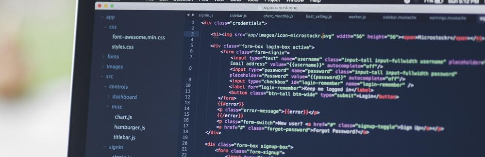 Разработка официального сайта