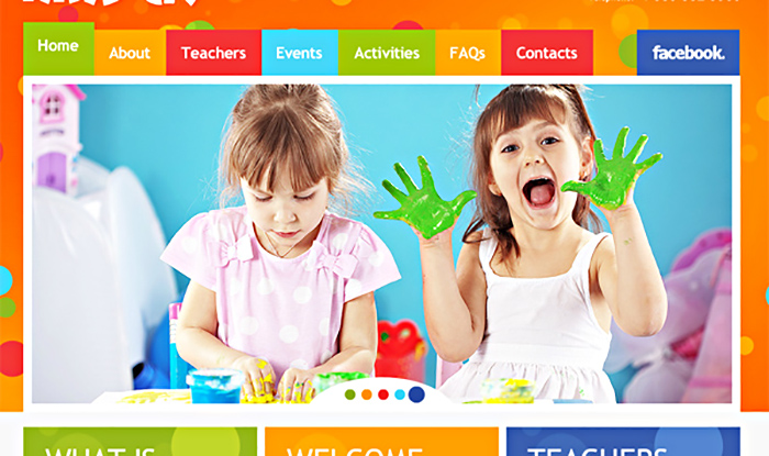 Создание детских сайтов