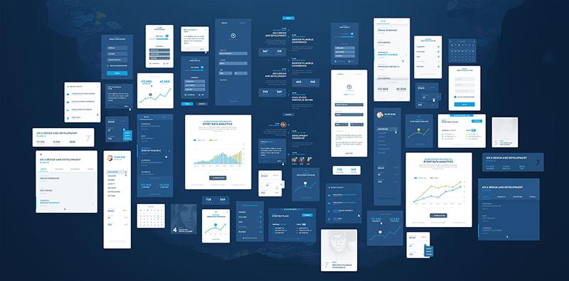 Разработка интерфейса сайта