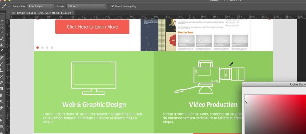 Создание дизайна сайта Онлайн