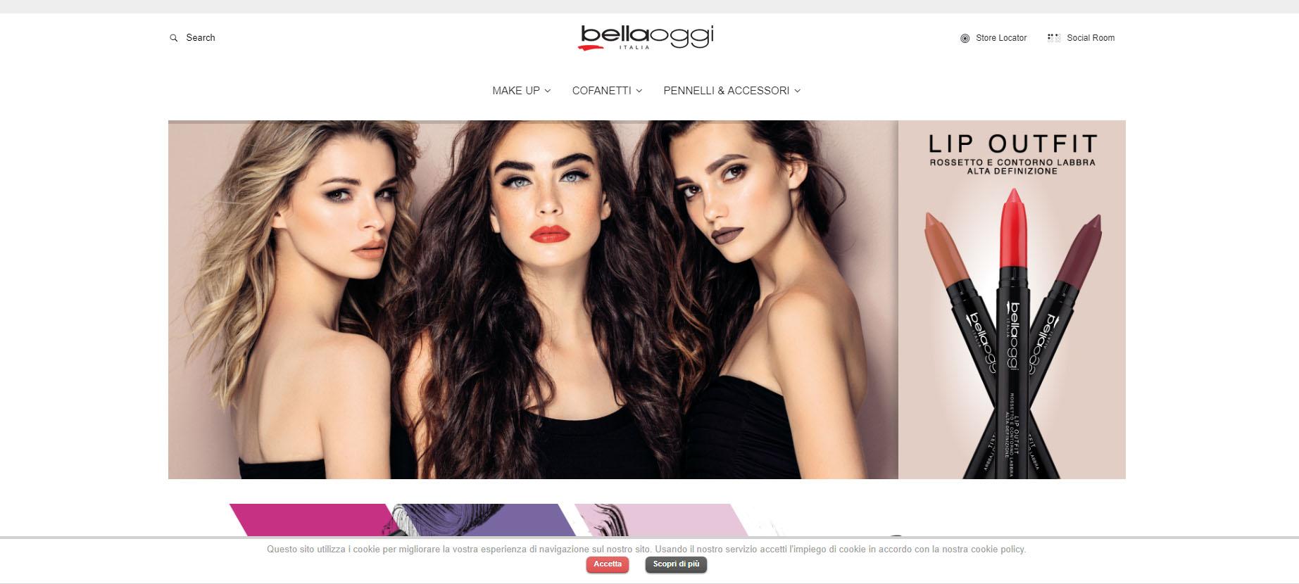 Продажи декоративной косметики